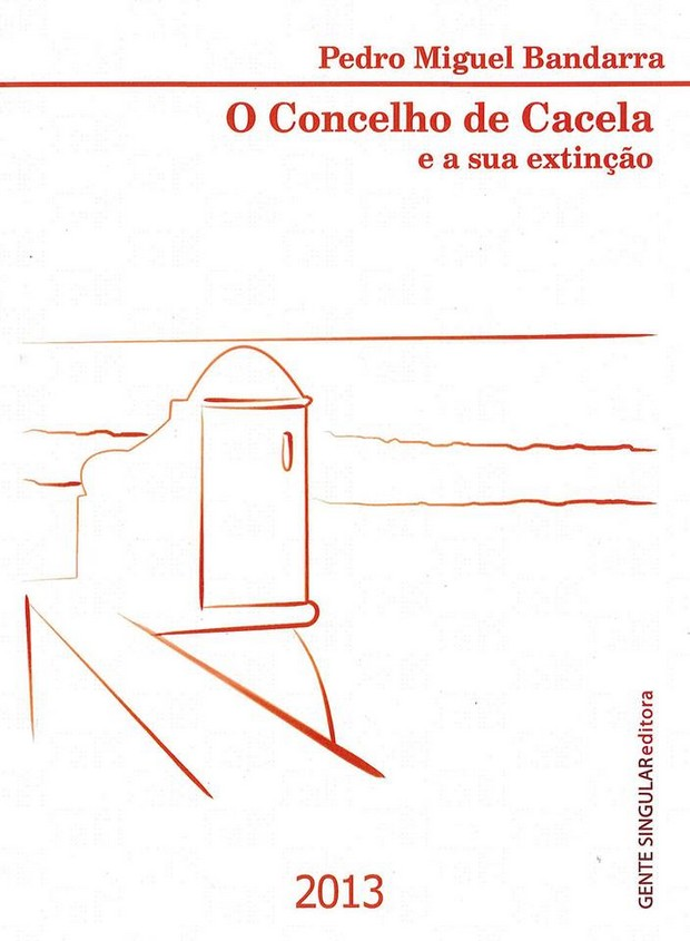 """Capa do Livro """"O concelho de Cacela e a sua extinção"""""""