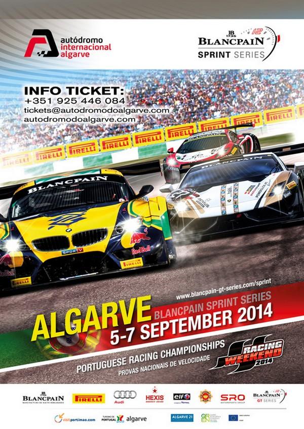 Blancpain no Autódromo I. do Algarve