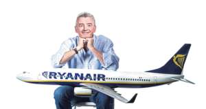 Michael O`Leary  Presidente da Ryanair