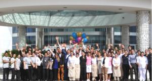 Reunido todo o Staff do Conrad Algarve em dia de segundo aniversário