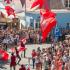 Pormenor do desfile nos Dias Medievais em Castro Marim