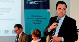 Nuno Marques, vice-presidente da CCDR Algarve no Open Days em Bruxelas   img: CCDR