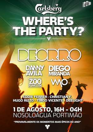 Carlsberg Wheres The Party Portimão 2015 _ab