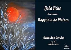 Cartaz exposição Bela Vieira _ab