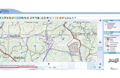 Águas do Algarve disponibiliza informação técnica na plataforma WebSig