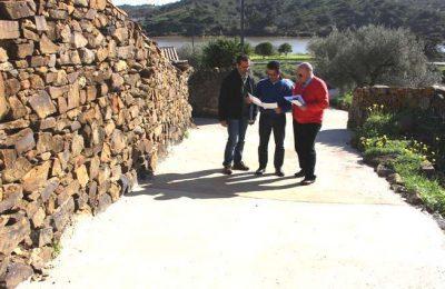 Castro Marim beneficiou dez arruamentos na Foz de Odeleite