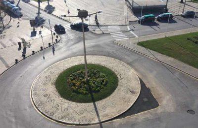 Faro reordena o trânsito na Praça Francisco Gomes