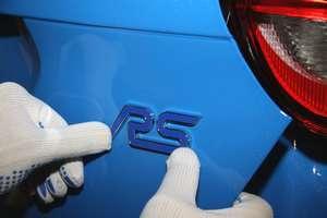 O Focus RS é um dos 12 novos modelos de performance da Ford