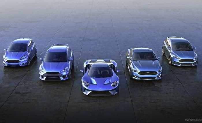 A Ford vai produzir 41.000 veículos de elevada performance na Europa