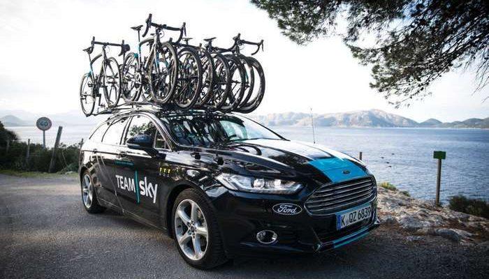 """Ford é fornecedor exclusivo de veículos ao Team """"Sky"""""""
