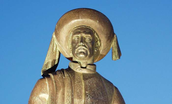 Estátua do Infante D. Henrique em Lagos a cidade dos Descobrimentos