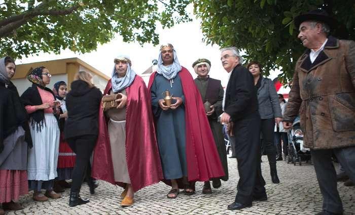 Celebração do Dia de Reis em Lagoa no Algarve