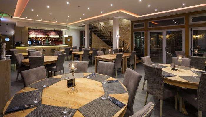 Restaurante Gecko no Clubhouse do Espiche Golf em Lagos