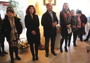 Presidente Adelino Soares inaugura a mostra