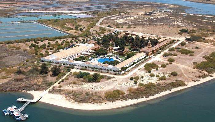Vila Galé Albacora em Tavira no Algarve - vista-aerea