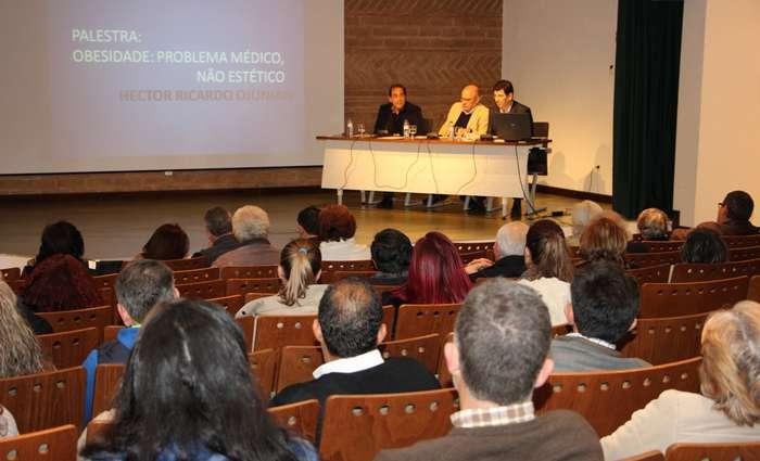 Palestra sobre obesidade em Castro Marim