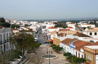 Castro Marim - Vista parcial da Vila