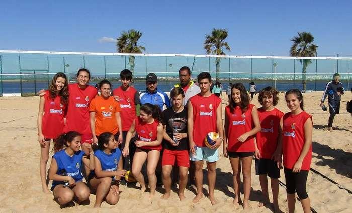 Duplas do AC de Albufeira vencedoras no Gira Praia em Faro!