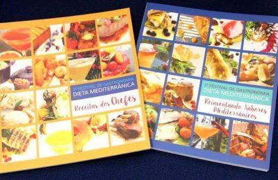 Livro de receitas 'Reinventando Sabores Mediterrânicos'