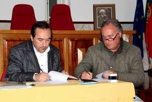 Pres. Vitor Guerreiro assina Protocolo com a UDRS