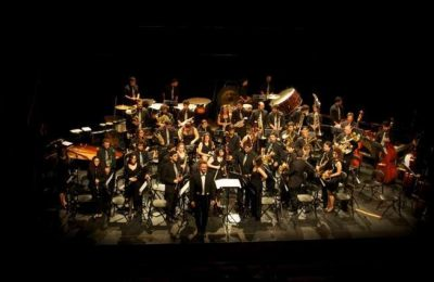 Concerto pela Orquestra_de_Sopros_do_Algarve_sob_direccao_de_Joao_Rocha