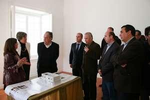 Ministro da Cultura visitou obras em Lagos no Algarve - crd_JOAN COSTA