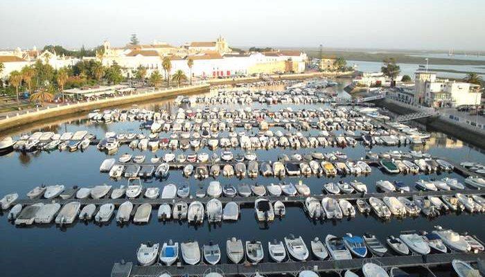 Doca de Faro no centro da cidade - crd_abb