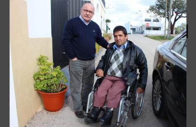 Doente ortopédico impedido de andar pela Burocracia!