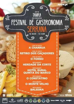Festival gastronomia Serrana