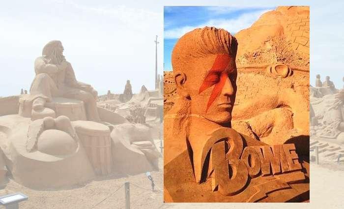 Fiesa homenageia David Bowie com uma escultura gigante!