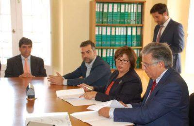 Assinado o contrato de construção da nova ETAR Faro-Olhão