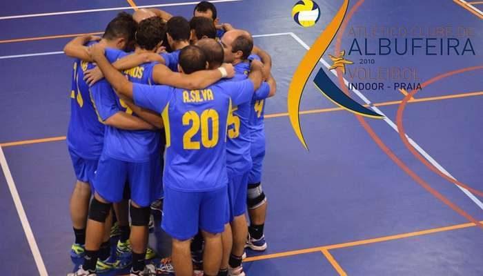 Voleibol senior do Atlético de Albufeira