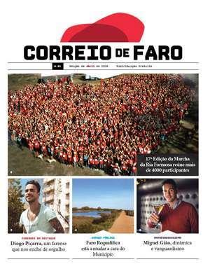 """Relançado o """"Correio de Faro"""""""