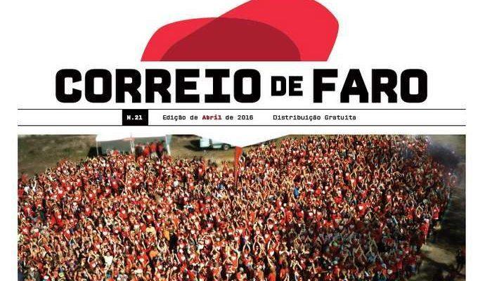 """Relançado o """"Correio de Faro"""" com novo formato"""
