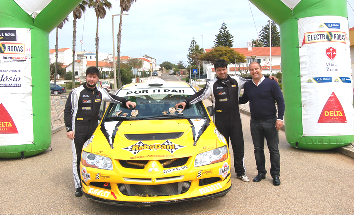Daniel Nunes foi o vencedor no Rali Vila do Bispo