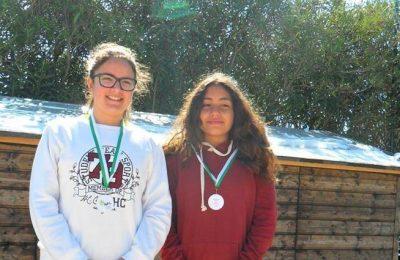 Margarida Cabrita e Raquel Lima - 1º Lugar 11-12 anos- Femininos
