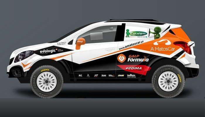 Nuno Matos  Galp  Opel Mokka Proto Team