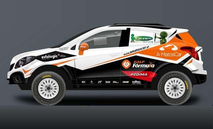 Nuno Matos |Galp |Opel Mokka Proto Team