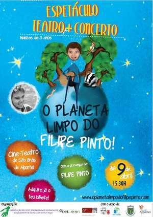 Filipe Pinto apresenta Planeta Limpo