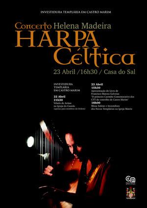concerto de Harpa Céltica