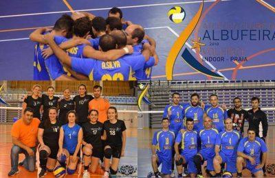 Atlético de Albufeira vencedor da Taça regional de Voleibol