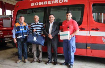 Bombeiros de Alcoutim receberam material de SBV