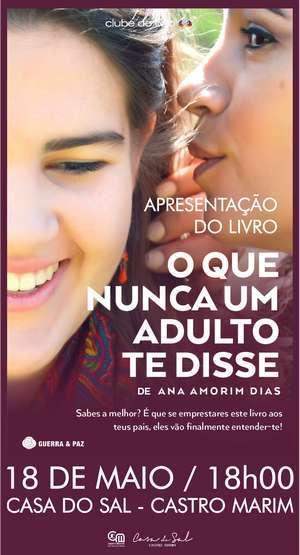 Livro de Ana Amorim Dias na Casa do Sal