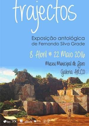 Exposição Trajectos | Fernando Grade | Faro