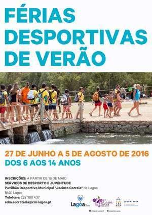 Férias Desportivas de Verão em Lagoa