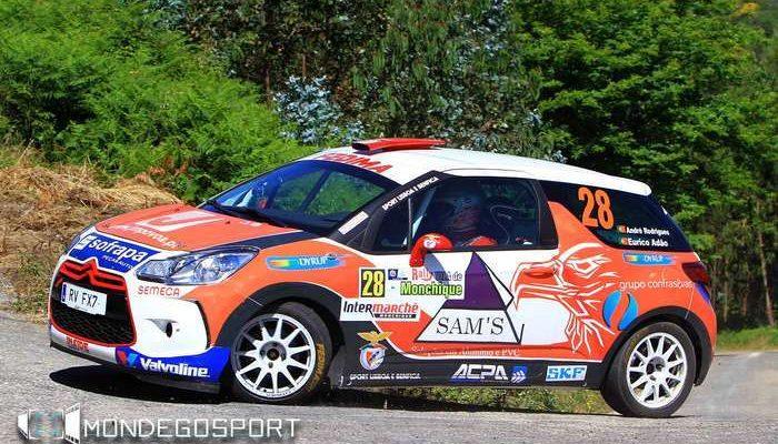 André Rodrigues - Citroen DS3 R1