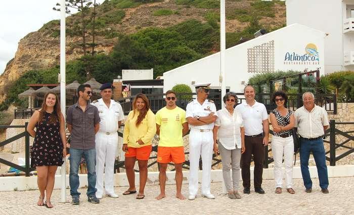 Bandeira Azul nas praias de Vila do Bispo