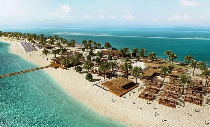 Ilha Sir Bani Yas no Abu Dhabi