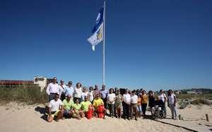 Bandeira Azul   Meia Praia
