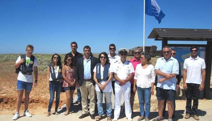 Praias de Faro com Bandeiras Azul e Praia Acessível